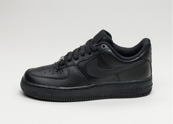 Женские кроссовки Nike Wmns Air Force 1 '07 (Black / Black) | Интернет-магазин Sole