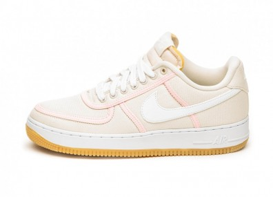 Кроссовки Nike Air Force 1 ´07 PRM (Light Cream / White - Crimson Tint)
