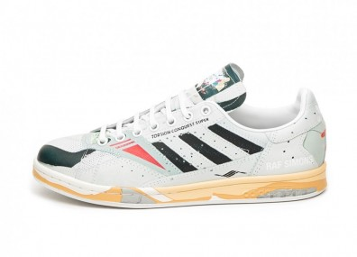 Кроссовки adidas x Raf Simons Torsion Stan (Ftwr White / Core Black / Legit Green)