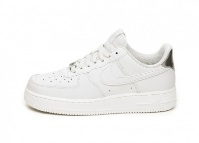 Кроссовки Nike Wmns Air Force 1 '07 Essential (Platinum Tint / Platinum Tint - Summit White)