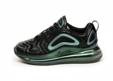 Кроссовки Nike Wmns Air Max 720 (Black / Black - Metallic Silver)