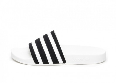 Кроссовки adidas Adilette (Core Black / Ftwr White / Off White)