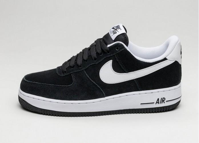 Мужские кроссовки Nike Air Force 1 ´07 (Black / White) | Интернет-магазин Sole