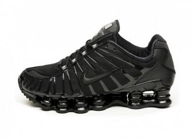 Кроссовки Nike Shox TL (Black / Black - Black)