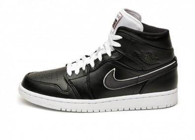 Кроссовки Nike Air Jordan 1 Mid SE *Maybe I Destroyed The Game* (Black / Black - White)