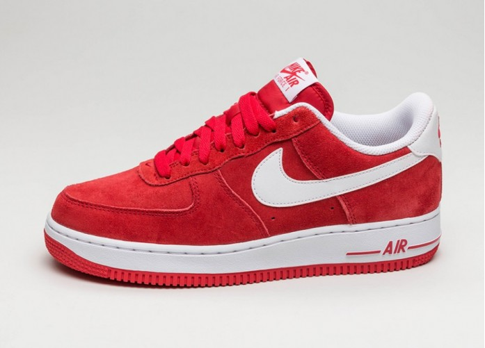 Мужские кроссовки Nike Air Force 1 ´07 (University Red / White) | Интернет-магазин Sole