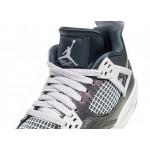 Кроссовки Nike Air Jordan 4 Retro SE (GS) (Monsoon Blue / Armory Blue - Melon Tint), фото 4 | Интернет-магазин Sole
