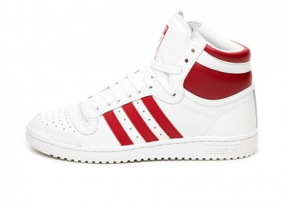 Кроссовки adidas Top Ten Hi (Ftwr White / Power Red / Ftwr White)