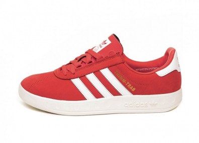 Кроссовки adidas Trimm Trab *Merseyside Pack* (Active Red / Ftwr White / Gold Metallic)