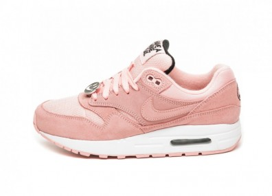 Кроссовки Nike Air Max 1 *Have A Nike Day* (GS) (Bleached Coral / Bleached Coral - Black)