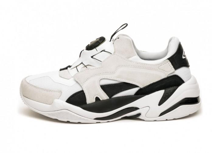 Кроссовки Puma Thunder Disc (Puma White / Puma Black) | Интернет-магазин Sole