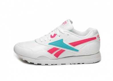 Кроссовки Reebok Rapide MU (White / Solar Pink / Neon)