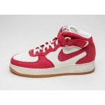 Мужские кроссовки Nike Air Force 1 Mid \'07 (University Red / University Red - Sail - Gum Light Brown), фото 1 | Интернет-магазин Sole