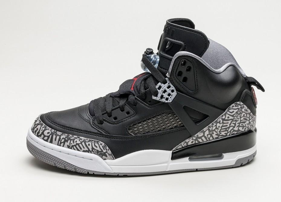 35244861 Мужские кроссовки Nike Air Jordan Spizike (Black / Varsity Red - Cement  Grey - White