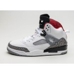 Мужские кроссовки Nike Air Jordan Spizike (White / Varsity Red - Cement Grey - Black), фото 1 | Интернет-магазин Sole