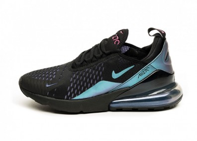 Кроссовки Nike Air Max 270 *Throwback Future Pack* (Black / Laser Fuchsia - Regency Purple)