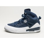 Мужские кроссовки Nike Air Jordan Spizike (Midnight Navy / Metallic Silver - White), фото 1 | Интернет-магазин Sole