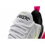 Кроссовки Nike Air Max 270 (White / Volt - Black - Laser Fuchsia), фото 5 | Интернет-магазин Sole