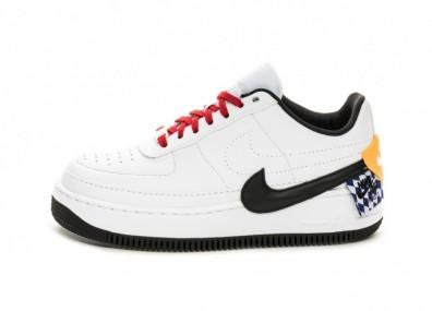 Кроссовки Nike Wmns Air Force 1 Jester XX SE (White / Black - Laser Orange)
