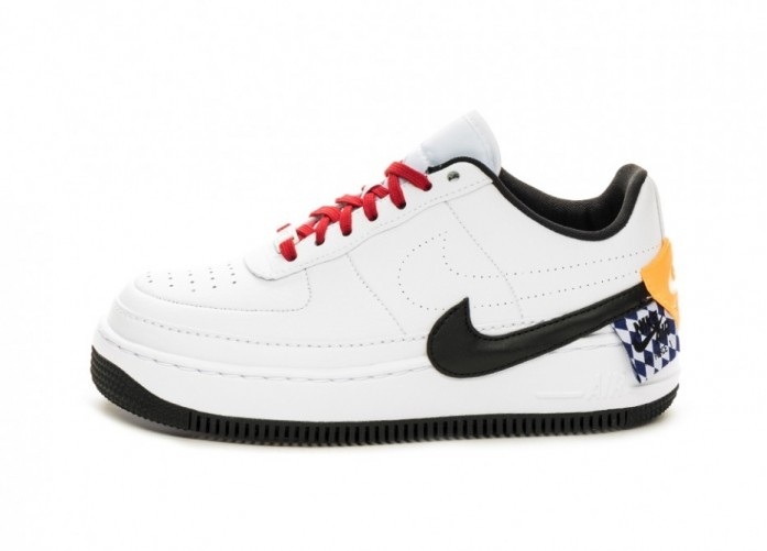 Кроссовки Nike Wmns Air Force 1 Jester XX SE (White / Black - Laser Orange) | Интернет-магазин Sole