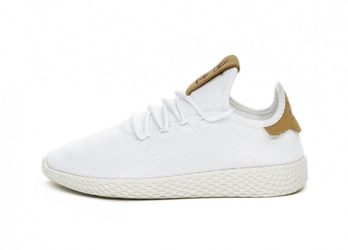 Кроссовки adidas PW Tennis HU W (Ftwr White / Ftwr White / Raw Sand) | Интернет-магазин Sole