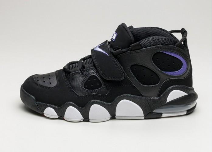 Мужские кроссовки Nike Air CB 34 *Godzilla* (Black / White - Varsity Purple) | Интернет-магазин Sole