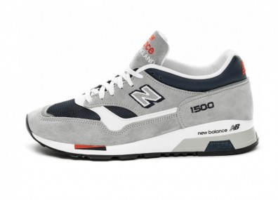 Кроссовки New Balance M1500GNW *Made In England* (Grey / Navy)