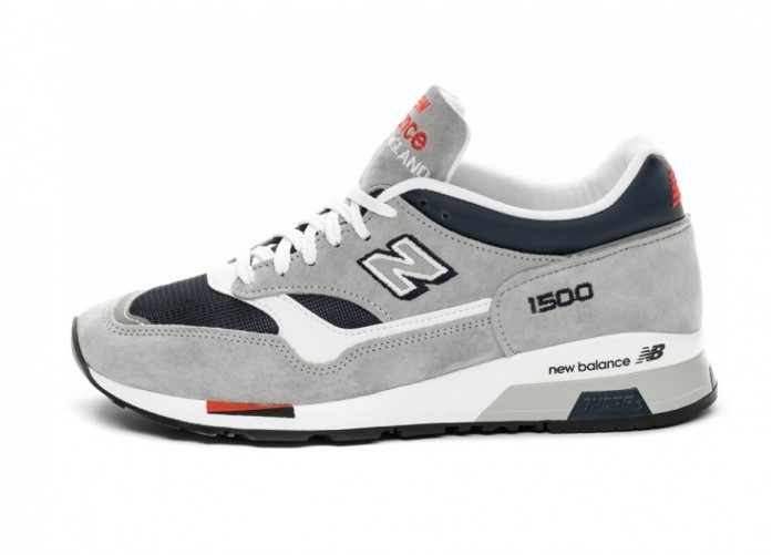 Кроссовки New Balance M1500GNW *Made In England* (Grey / Navy) | Интернет-магазин Sole
