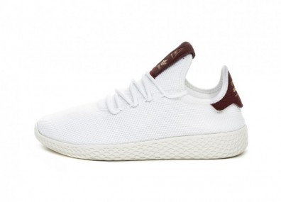 Кроссовки adidas PW Tennis HU W (Ftwr White / Ftwr White / Collegiate Burgundy)