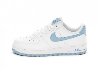 Кроссовки Nike Wmns Air Force 1 '07 (White / Light Armory Blue)