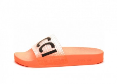 Тапочки adidas x Fiorucci Adilette (Solar Orange / Black)