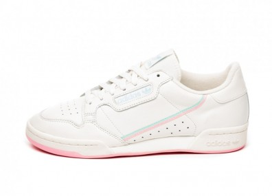 Кроссовки adidas Continental 80 *Pastel Pack* (Off White / True Pink / Clear Mint)