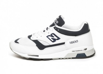 Кроссовки New Balance M1500WWN *Made in England* (White / Navy)