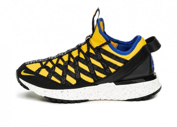 Кроссовки Nike ACG React Terra Gobe (Amarillo / Racer Blue - Black) | Интернет-магазин Sole