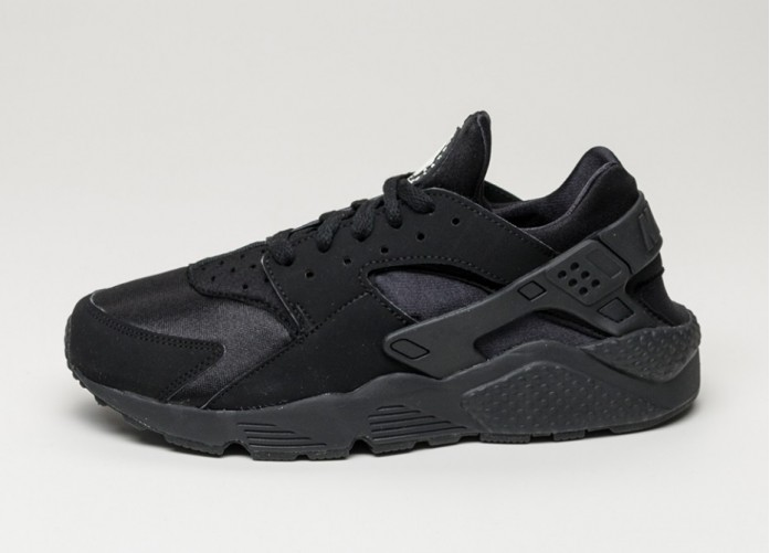 Мужские кроссовки Nike Air Huarache (black / black - white)   Интернет-магазин Sole
