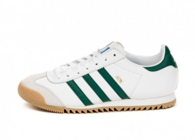 Кроссовки adidas Rom (Ftwr White / Collegiate Green / Grey One)