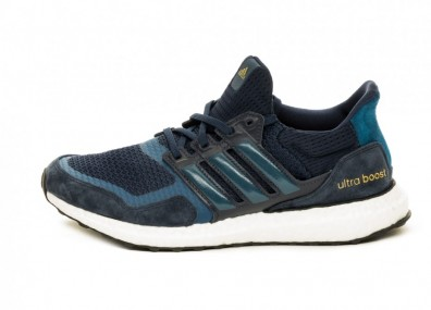 Кроссовки adidas Ultra Boost S&L (Collegiate Navy / Legend Marine / Gold Metallic)