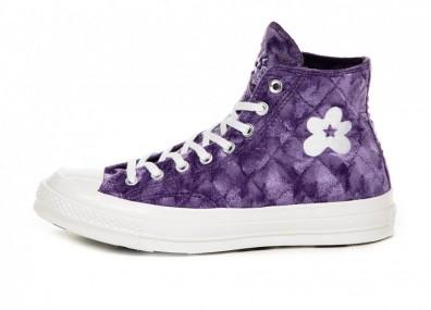 Кеды Converse x Golf Le Fleur Chuck 70 Hi (Tillandsia Purple)
