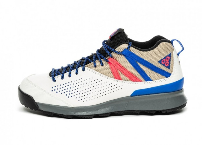 Кроссовки Nike ACG Okwahn II (Sail / Racer Blue - Racer Pink - Desert) | Интернет-магазин Sole