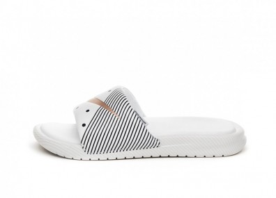 Тапочки Nike Wmns Benassi *Unité Totale* (White / Metallic Red Bronze - Midnight Navy)
