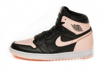 Кроссовки Nike Air Jordan 1 Retro High OG *Crimson Tint* (Black / Crimson Tint - White - Hyper Pink)