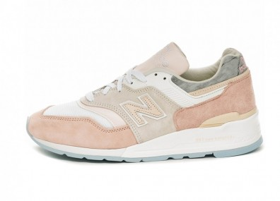 Кроссовки New Balance M997LBH *Made In USA* (White / Pink)