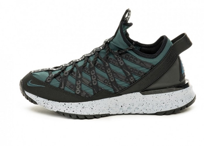 Кроссовки Nike ACG React Terra Gobe (Deep Jungle / Black - Wolf Grey) | Интернет-магазин Sole