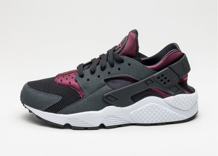 Мужские кроссовки Nike Air Huarache (Anthracite / Night Maroon - Night Maroon) | Интернет-магазин Sole
