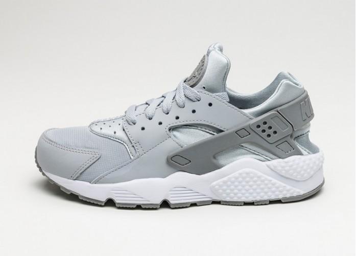 Мужские кроссовки Nike Air Huarache (Wolf Grey / Wolf Grey - Wolf Grey - White) | Интернет-магазин Sole