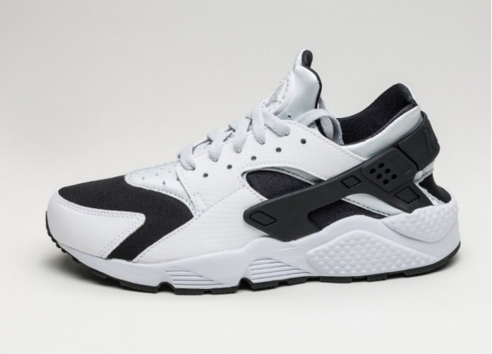 Мужские кроссовки Nike Air Huarache (White / Pure Platinum - Pure Platinum - Black) | Интернет-магазин Sole
