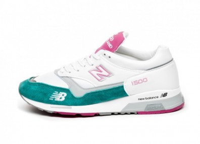 Кроссовки New Balance M1500WTP *Made in England* (White / Pink)