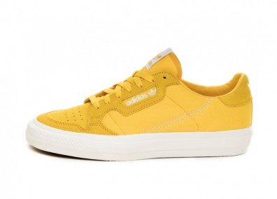 Кроссовки adidas Continental Vulc (Bold Gold / Ftwr White / Bold Gold)
