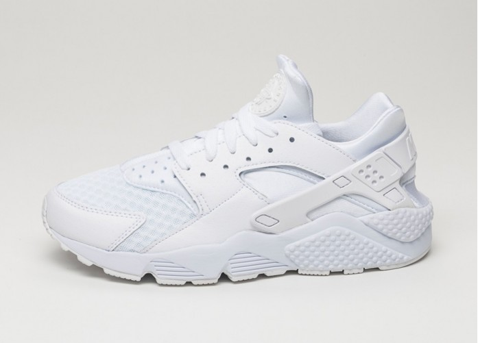 Мужские кроссовки Nike Air Huarache (White / White - Pure Platinum) | Интернет-магазин Sole