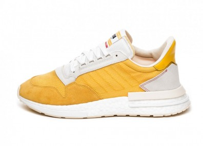 Кроссовки adidas ZX 500 RM *Frank Shorter vs. The Imposter Pack* (Bold Gold / Bold Gold / Ecru Tint)